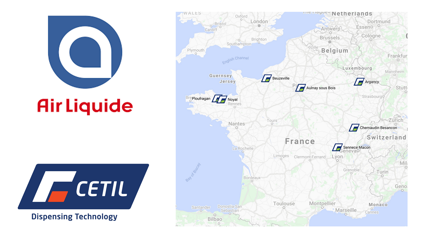 Air Liquide and Cetil Collaboration