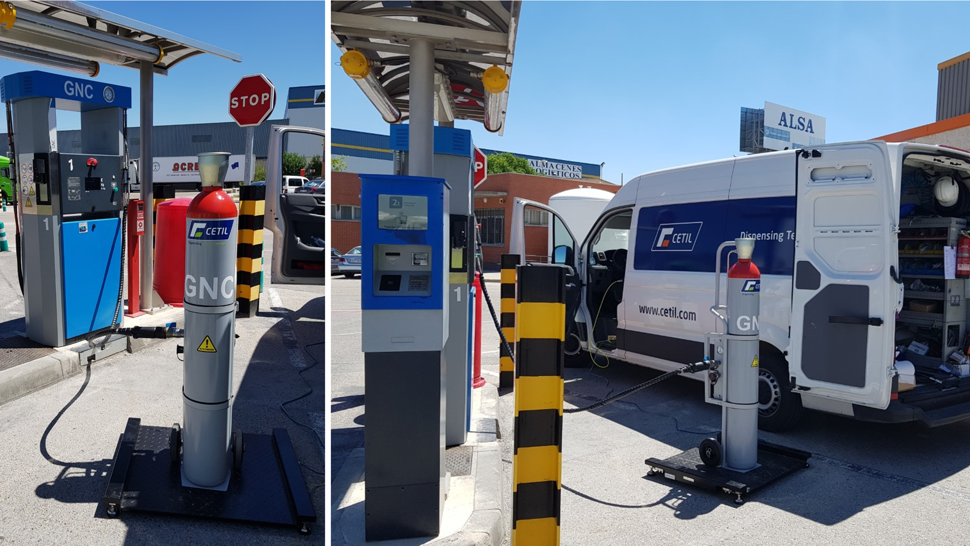 New CNG dispenser measurement verification service