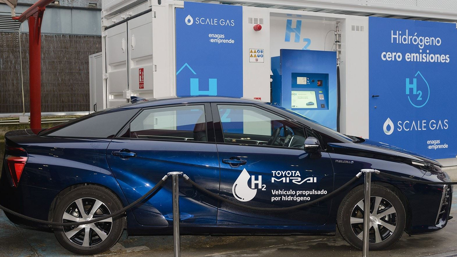 Cetil present at the first 700 bar hydrogen station in Spain
