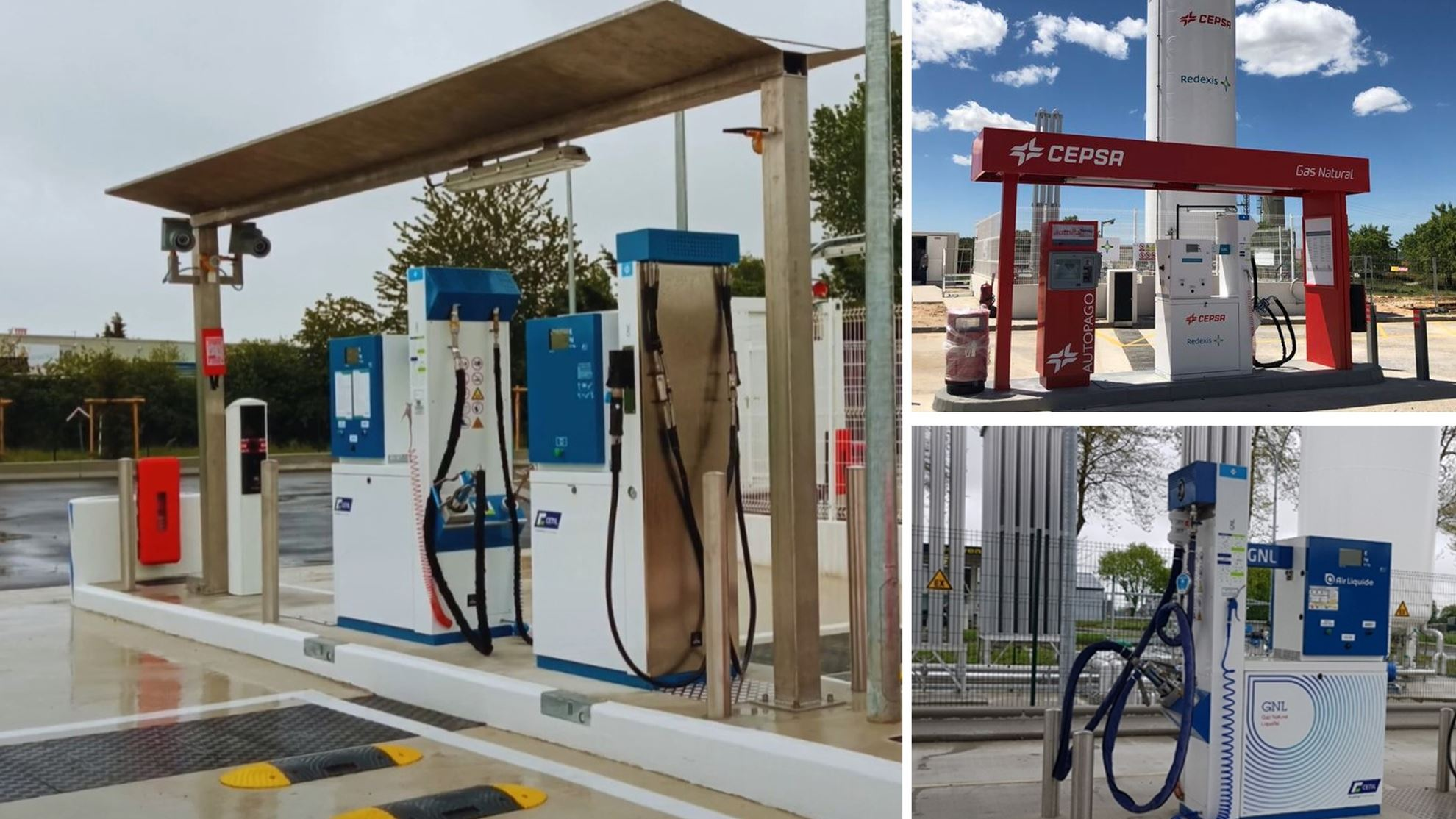 More gas stations with Cetil dispensers continue to open